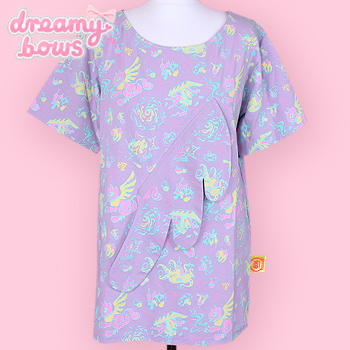 Desire Boyfriend Big T-Shirt Melty Pastel