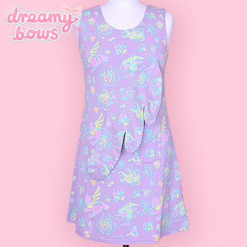 Desire Tank Dress Melty Pastel