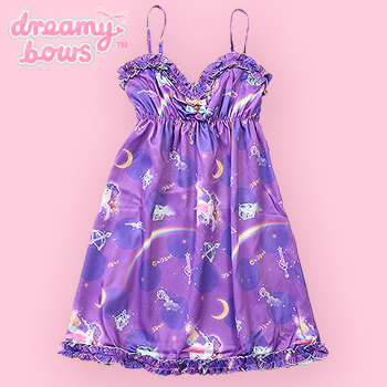 6%DOKIDOKI Night Trip Babydoll Dress