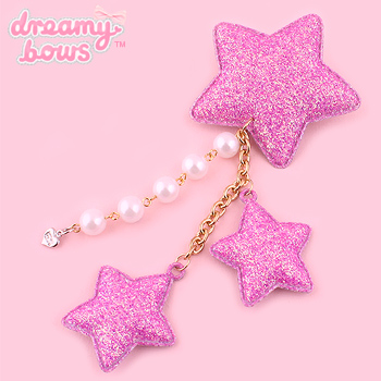 Shooting Star Clip & Brooch - Sugar Lavender Pink