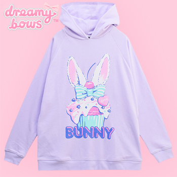 Bunny Cupcake Hooded Parka - Lavender