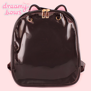 Cat Ear Ita Backpack - Black