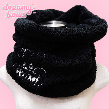 Destroy Bear Fluffy Snood Scarf