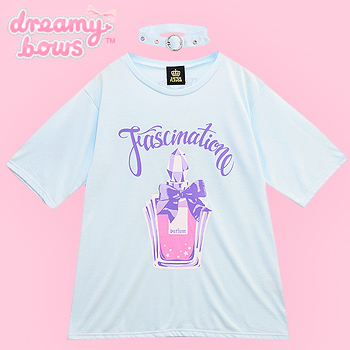Fascination Perfume Cutsew with Choker - Mint