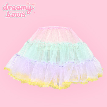Frilly Tiered Tutu Skirt - Pink Top