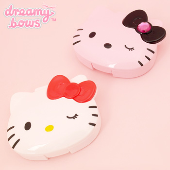 Hello Kitty Face Eyelash Case