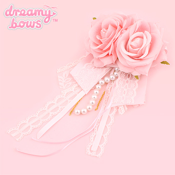 Hime Dreams Double Rose Princess Brooch
