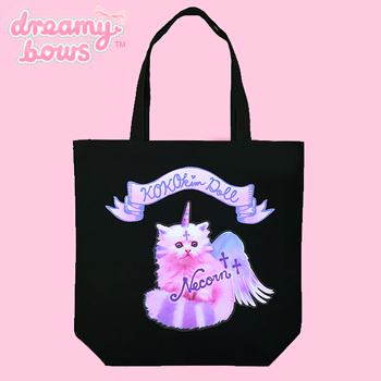 Necorn Tote Bag - Black