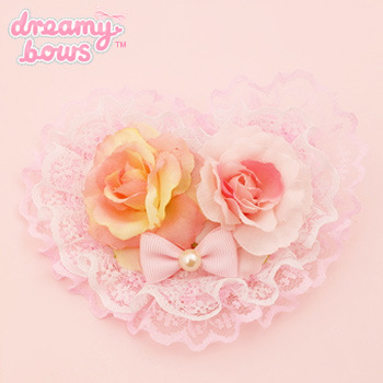 Hime Dreams Rose Heart Mini Clip