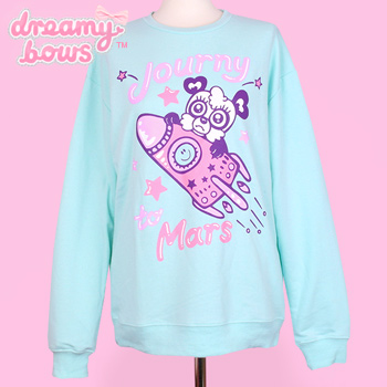 90884 Journy To Mars Sweater - Mint