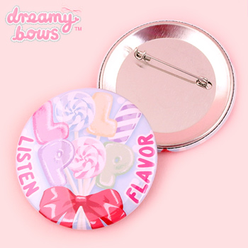 Lolipop 57mm Badge