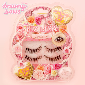 Liz Lisa False Eyelashes - Upper