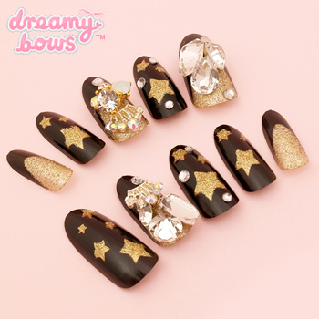 Starlight Bling Deco False Nail Set