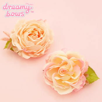Dainty Single Rose Hair Clip