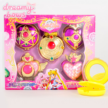 Buy Sailor Moon Transformation Compact Mirror Set At Dreamy Bows