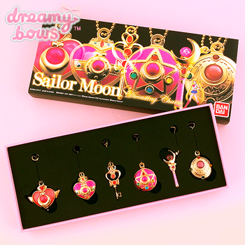 Sailor Moon Die Cast Charm Gift Set