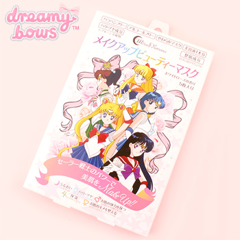 Sailor Moon Make-up Beauty Mask 5pcs