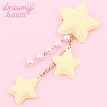 Sparkly Starry Dangly 2-Way Clip