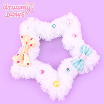 Fluffy Deco Star-Shaped 2-Way Clip