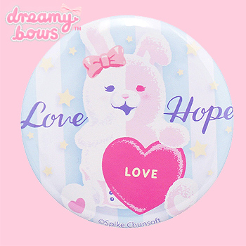 Usami Love & Hope 57mm Badge