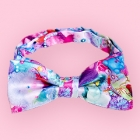 Colorful Rebellion Bow Tie - Blue Daydream