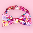 Colorful Rebellion Bow Tie - Pink Desire