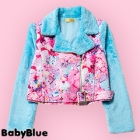 Fluffy Girls Daydream Riders Jacket - Blue
