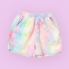 Mokomoco Fur Fluffy Shorts - Pastels