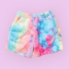 Mokomoco Fur Fluffy Shorts - Bright Vivid