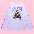 Play House Long Sleeve T-Shirt - Lav