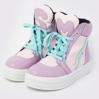 SM Pastel Chunky Sneakers - Pink