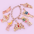 Sailor Moon Wire Art Bracelet Charm Gashapon
